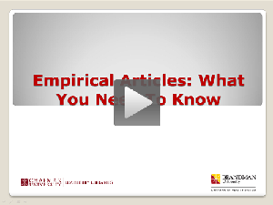 Empirical Articles